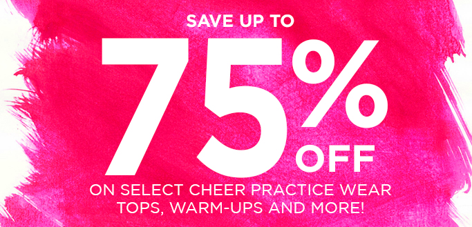 2016 Cheer Clearance