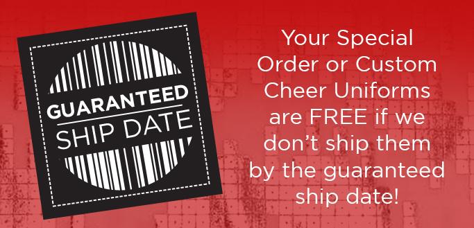 GK Cheer Guaranteed Ship Date