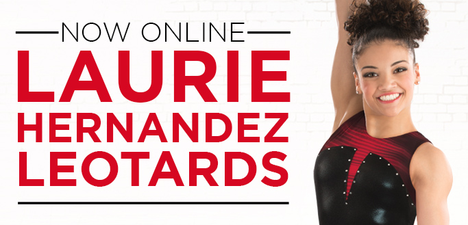2017 Spring Collection Gymnastics Leotards by Laurie Hernandez