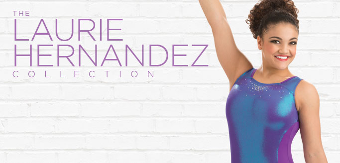 2017 Back to School Workout Essentials Leotards from the Laurie Hernandez Collection