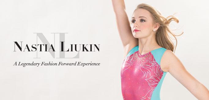 "2017 Nastia Liukin Back to School Gymnastics Collection by GK Gymnastics"" width="