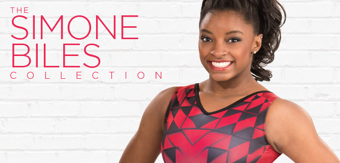 2017 Simone Biles Leotard Collection from GK Elite