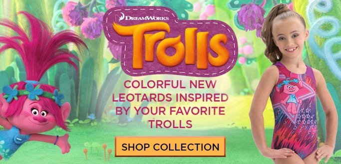 2017 Trolls Holiday Collection from GK Gymnastics
