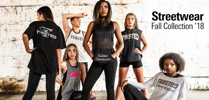 2018 GK All Star Cheer Fall Streetwear Collection