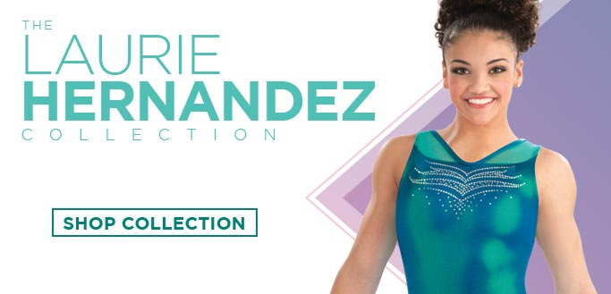 2018 Spring Collection Gymnastics Leotards by Laurie Hernandez