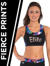 Fierce Prints Cheer Apparel from GK Elite