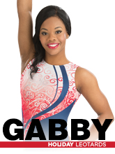 2016 Gabby Douglas Holiday Workout Essentials Gymnastics Leotards from GK Elite