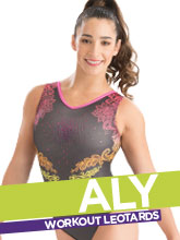 Aly Raisman Gymnastics Leotards Collection from GK Elite