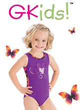 GKids Collection Gymnastics Leotards from GK Elite