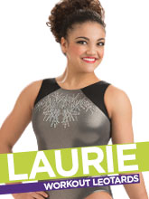 Laurie Hernandez Gymnastics Leotards Collection from GK Elite