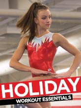 Holiday Gymnastics Leotards from GK Elite