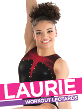 2017 Laurie Hernandez Spring Workout Gymnastics Collection from GK Elite