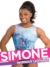 2017 Simone Biles Spring Workout Collection from GK Elite