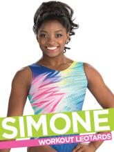 2017 Summer Simone Biles Workout Essentials Gymnastics Collection from GK Elite