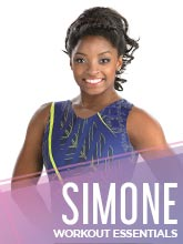 2018 Simone Biles Spring Workout Collection from GK Elite