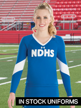 InStock Cheer Uniforms from Under Armour
