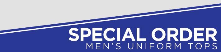 Men's Special Order Cheer Uniform Tops from GK Elite