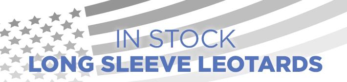 Women's In Stock Long Sleeve Gymnastics Leotards from GK Elite