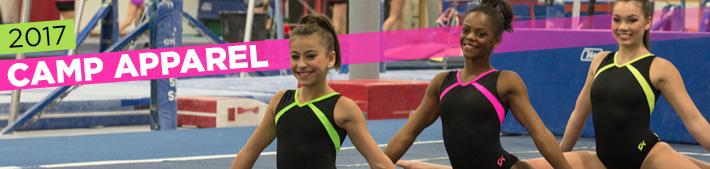 2017 Gymnastics Camp Tank Leotards from GK Elite