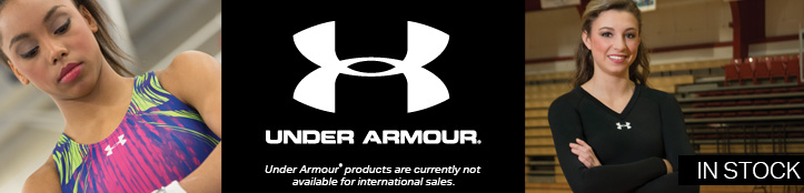 In Stock Apparel from Under Armour Gymnastics and Cheer