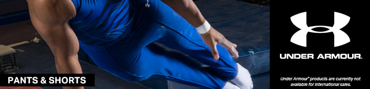 In Stock Men's Pants and Shorts from Under Armour Gymnastics