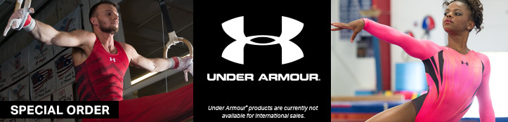 Special Order Apparel from Under Armour Gymnastics