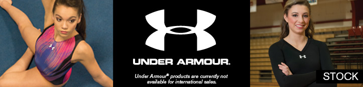 Stock Apparel from Under Armour Gymnastics and Cheer