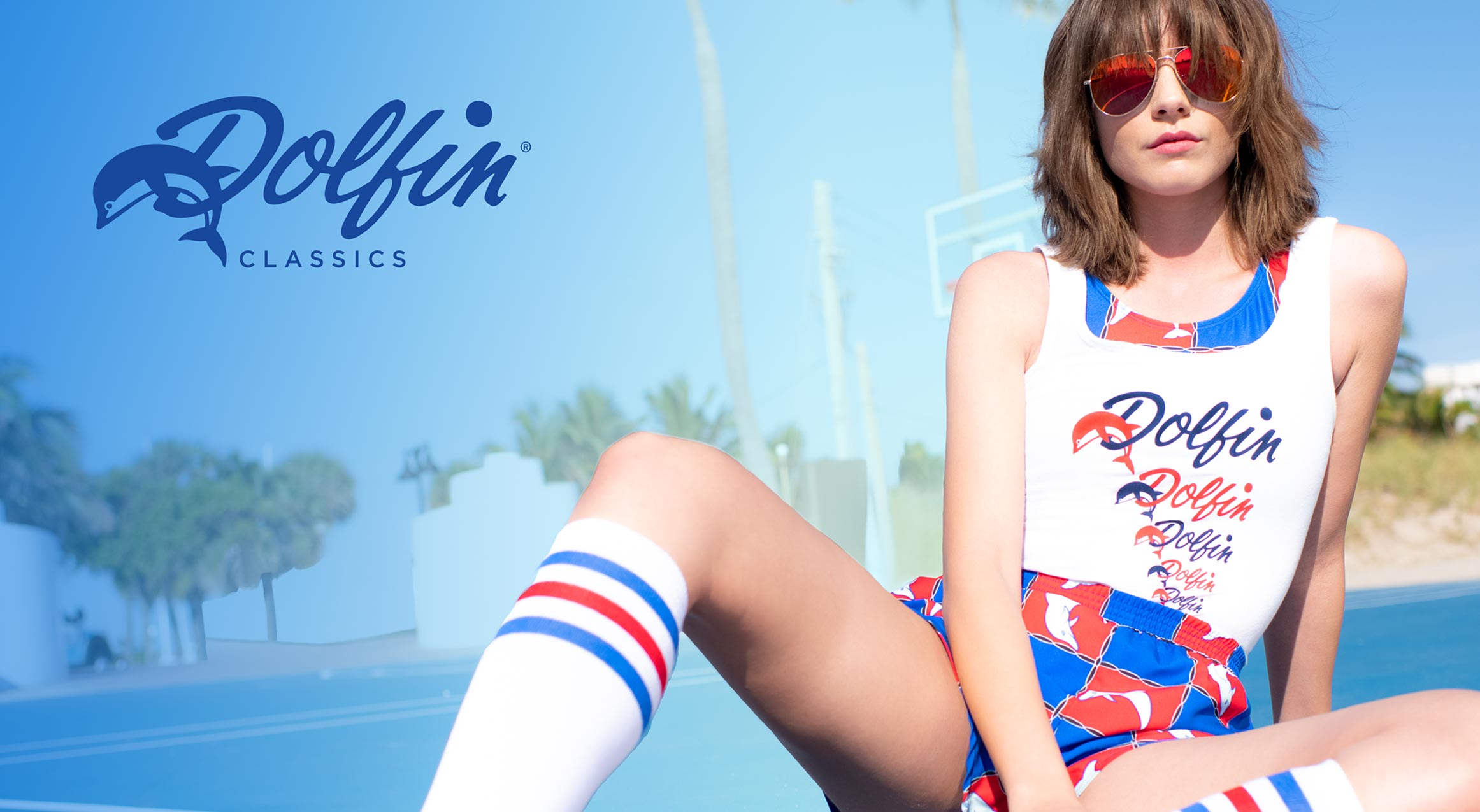 Dolfin Classics Swimsuit, T-Shirt, and Short Collection