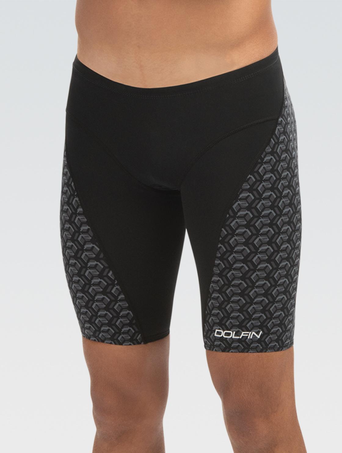 Dolfin First Strike black Knee Racing Swimsuit