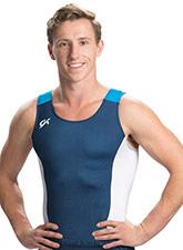Men's Vertical Tech Gymnastics Shirt from GK Gymnastics