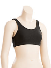 Cotton/Spandex Scoop Back Sports Bra from GK Gymnastics