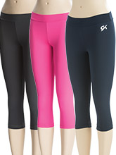 DryTech Workout Capris from GK Gymnastics