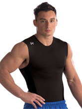 Men's In Stock Racerback Compression Shirt from GK Gymnastics