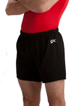 Men's Gymnastics Long Shorts by GK Elite
