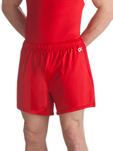 Men's Nylon/Spandex Long Shorts from GK Gymnastics