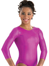 Scoop back 3/4 Sleeve Mystique Leo from GK Gymnastics