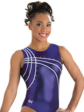 Purple Waterfall Leotard from GK Gymnastics