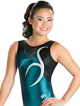 Azure Elegance Leotard from GK Gymnastics