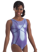 Lavender Ice Gymnastics Leotard from GK Gymnastics