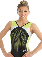 Black Pearl Gymnastics Leotard from GK Gymnastics