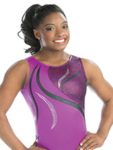 Sangria Mist Workout Leotard from GK Gymnastics