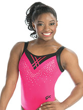 Cherry Lipstick Workout Leotard from GK Gymnastics
