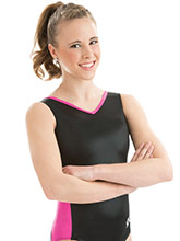 BRANDED Mystique V-Back Leotard from GK Gymnastics