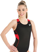 GymTek Red Wind Leotard from GK Gymnastics