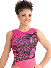 Coral Vapor Practice Leotard from GK Elite