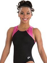 BRANDED Strappy Y Back Leotard from GK Elite