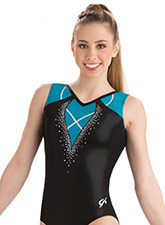 Turquoise Trim Tank Leotard from GK Gymnastics
