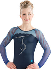 Crackle Sublimated Gymnastics Leotard from GK Elite