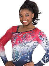 Baroque Melody Sublimated Leotard from GK Elite
