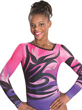 Floral Fusion Sublimated Leotard from GK Elite